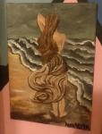 Dama na morzu